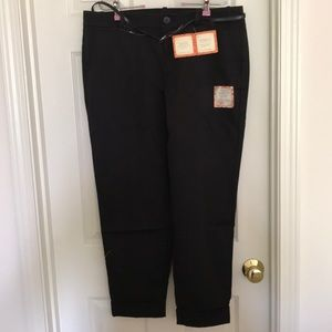 NWT size 14 Dockers Black Ankle Pants